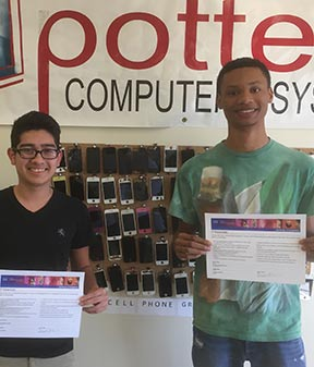 Potter's Computer Center keys of Success